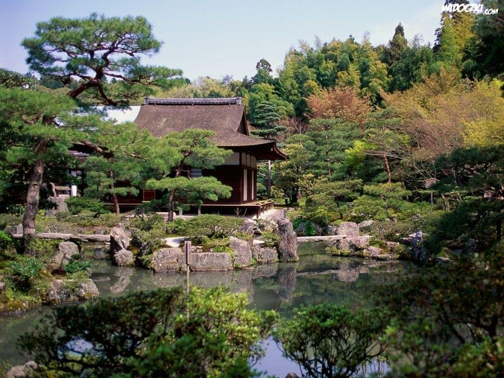 temple japan landscape wallpaper - photo #5