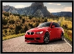 BMW M3, Droga, Kanion